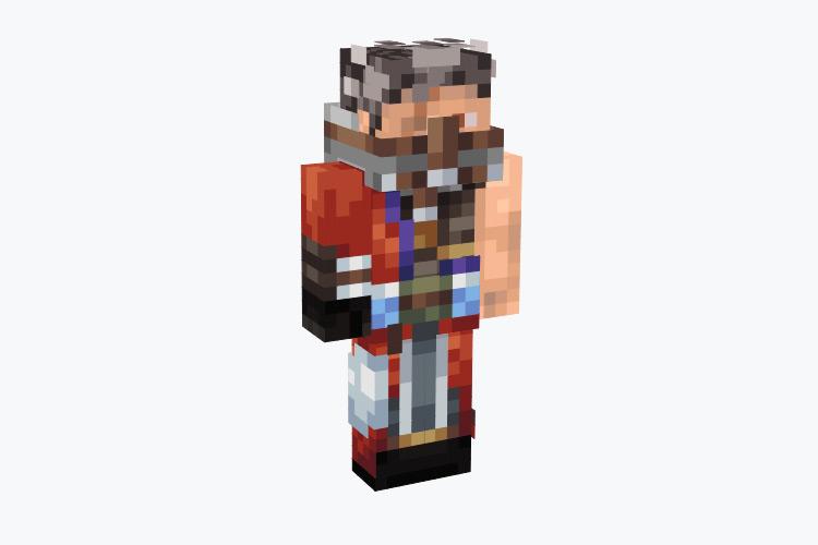 Auron from FFX / Minecraft Skin