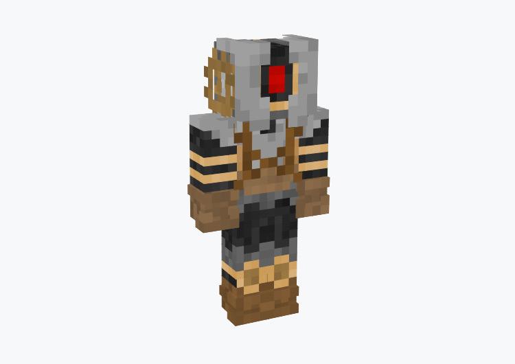 Tall Sentry Robot Character / Minecraft Skin