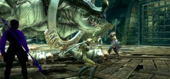 Kiku Ichimonji Weapon with Penelo in FFXII The Zodiac Age