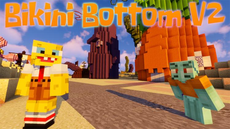 Bikini Bottom Map for Minecraft