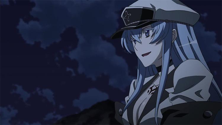 Esdeath from Akame ga Kill!