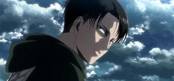 Levi Ackerman from Attack on Titan Anime