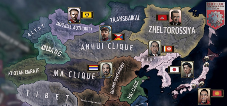 Red Flood Hearts Mod for HOI4