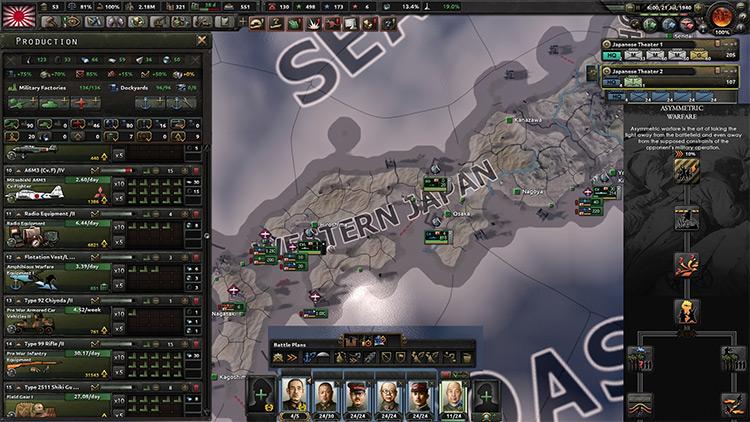 Total War HOI4 Mod screenshot