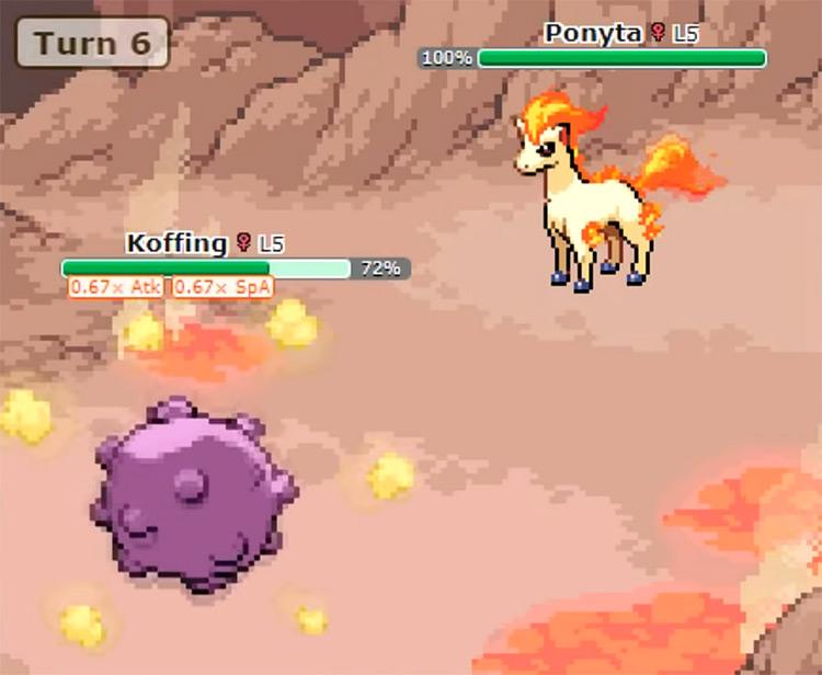Pokémon Showdown Game screenshot