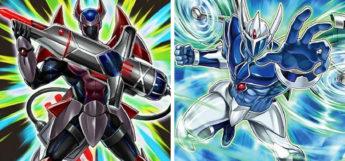 Xtra Hero Decimator & Elemental Hero Stratos YGO