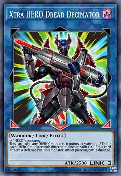 Xtra HERO Dread Decimator Yu-Gi-Oh Card