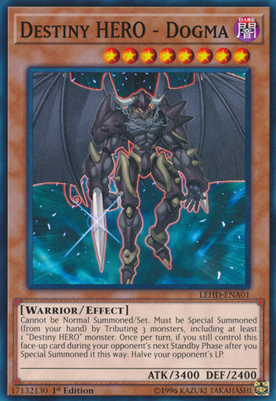 Destiny HERO - Dogma YGO Card