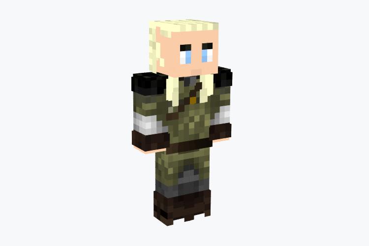 Legolas Character / Minecraft Skin