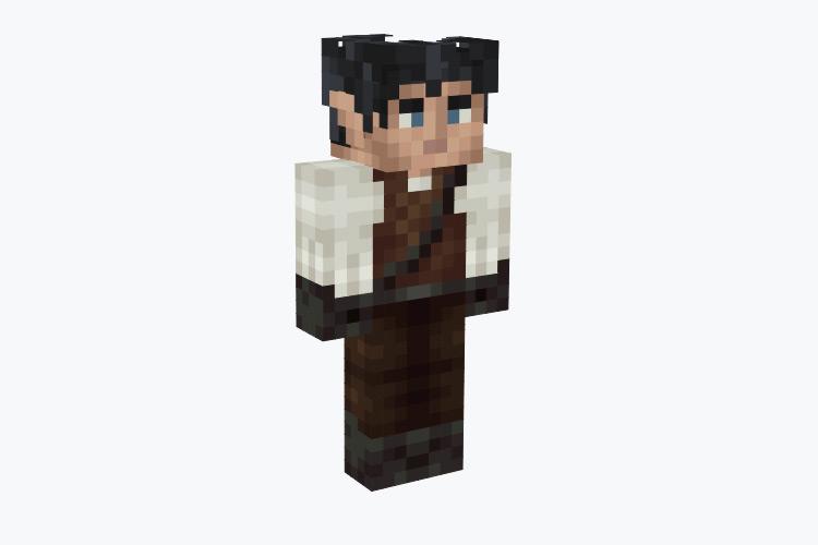 Tall Male Elf Alchemist / Minecraft Skin
