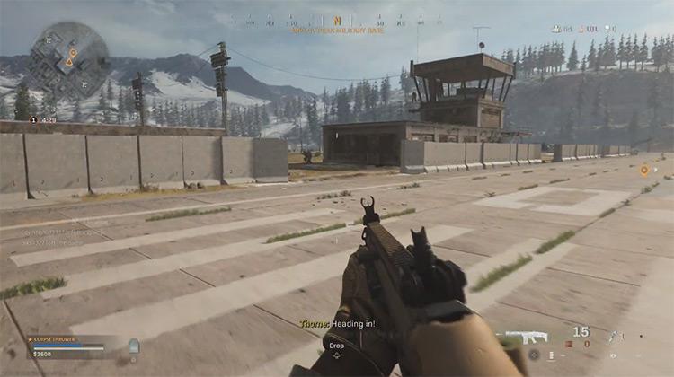 Call of Duty: Warzone multiplayer game screenshot