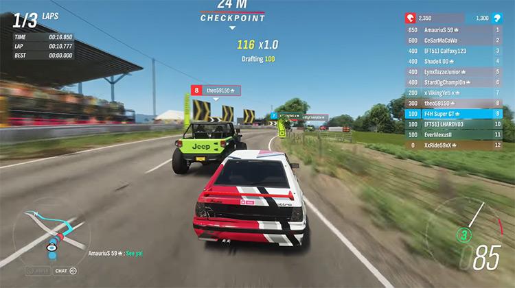 Forza Horizon 4 multiplayer Xbox One gameplay