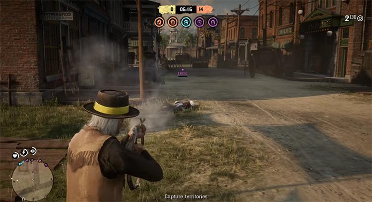 Red Dead Online multiplayer game screenshot