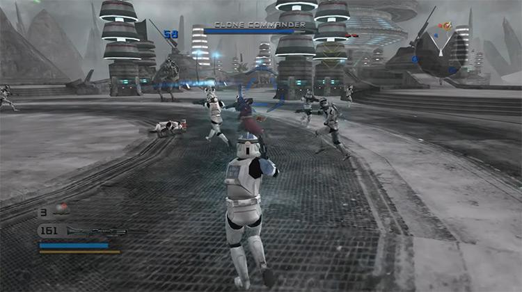 Star Wars: Battlefront 2 multiplayer screenshot