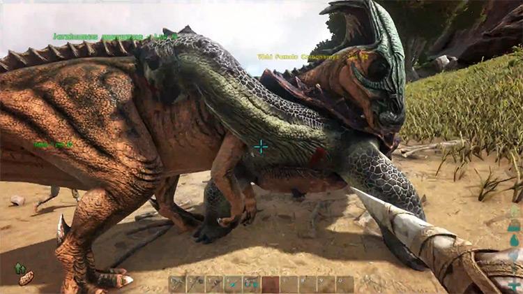 ARK: Survival Evolved multiplayer gameplay