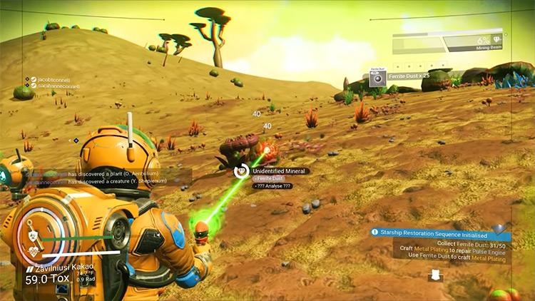 No Man's Sky multiplayer screenshot