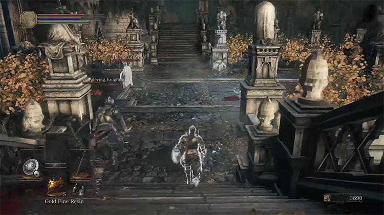 Dark Souls III multiplayer game screenshot
