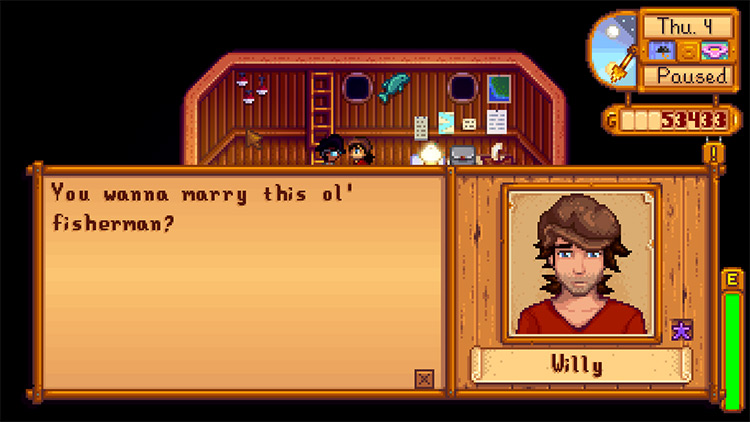Siv's Marriage Mod in Stardew Valley