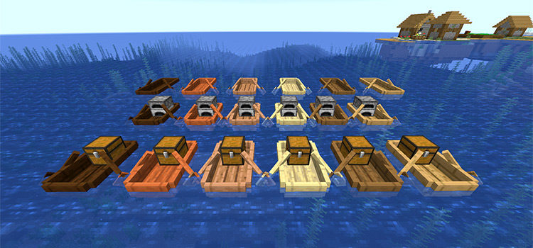 The Best Minecraft Mods For Boats & Ships