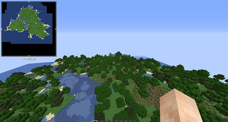 Islands Mod for Minecraft