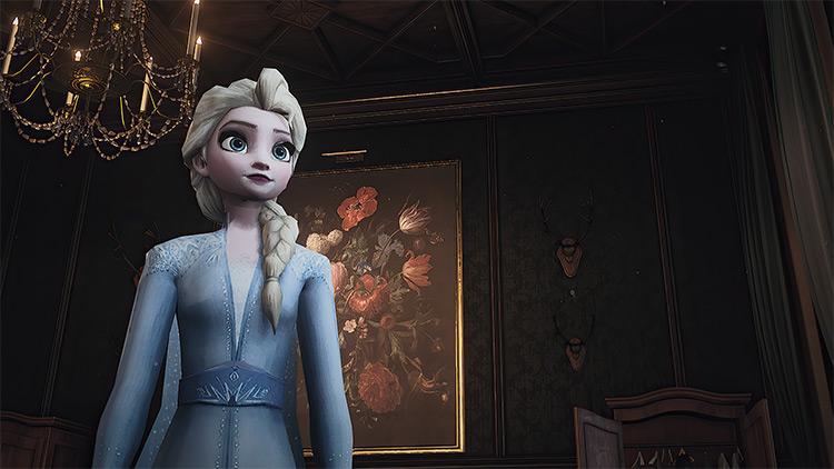 Elsa of Arendelle Mod for Hitman 3