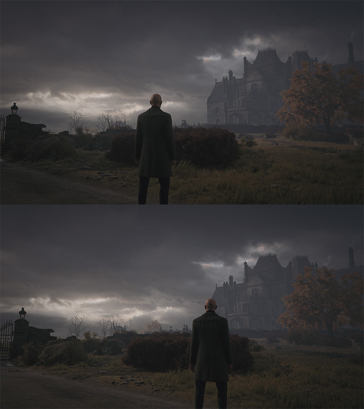 Enable Camera Shoulder Switch Mod for Hitman 3