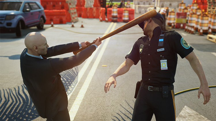 47 IS PISSED Mod for Hitman 3
