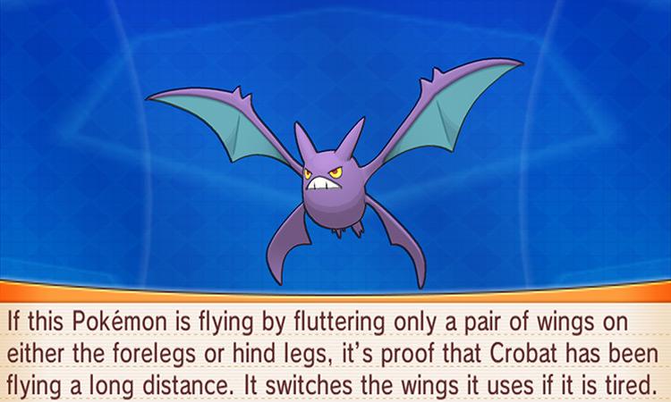 Crobat in Pokemon Omega Ruby/Alpha Sapphire