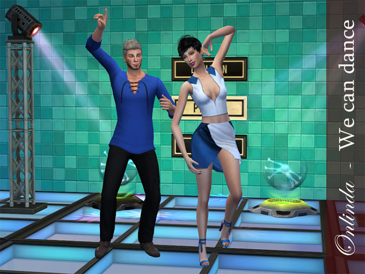 We Can Dance Pose Pack for The Sims 4