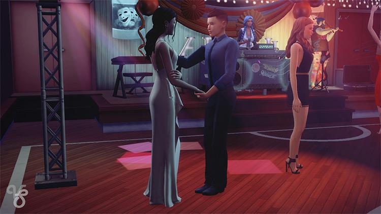 Prom Posepack / Sims 4 CC