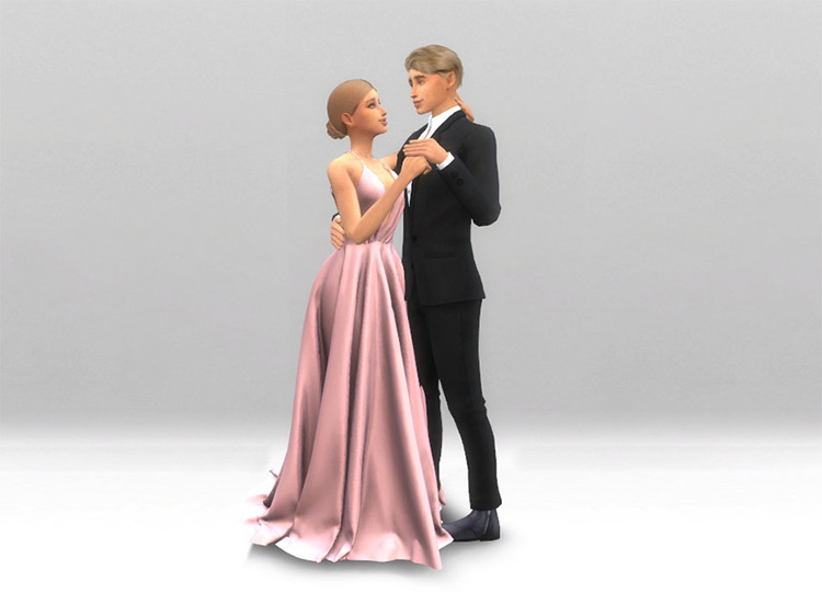 First Dance Pose Pack for The Sims 4