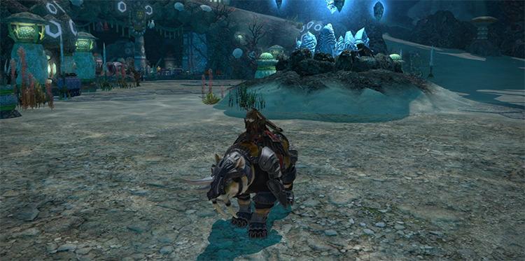 Battle Tiger in Final Fantasy XIV