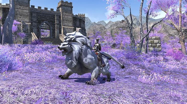 War Lion FFXIV Mount Screenshot