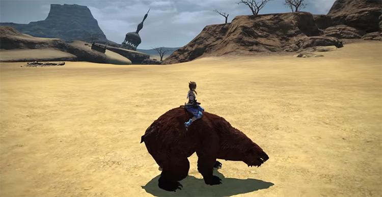 War Bear Mount in FF14