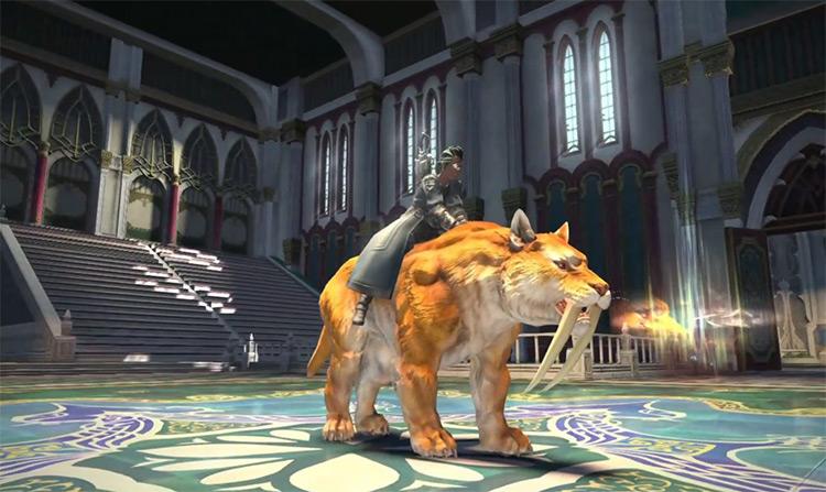 War Tiger in Final Fantasy XIV