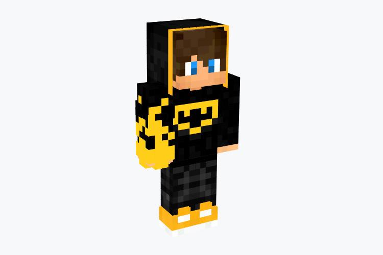 Dark Batman Hoodie Guy / Minecraft Skin