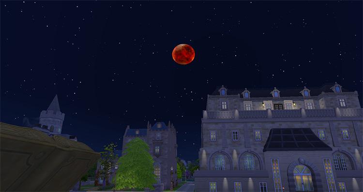 Moon Retexture Gallifrey / Sims 4 CC