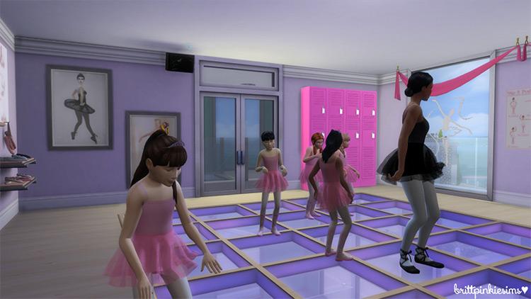 Dance Studio Stuff Set / Sims 4 CC