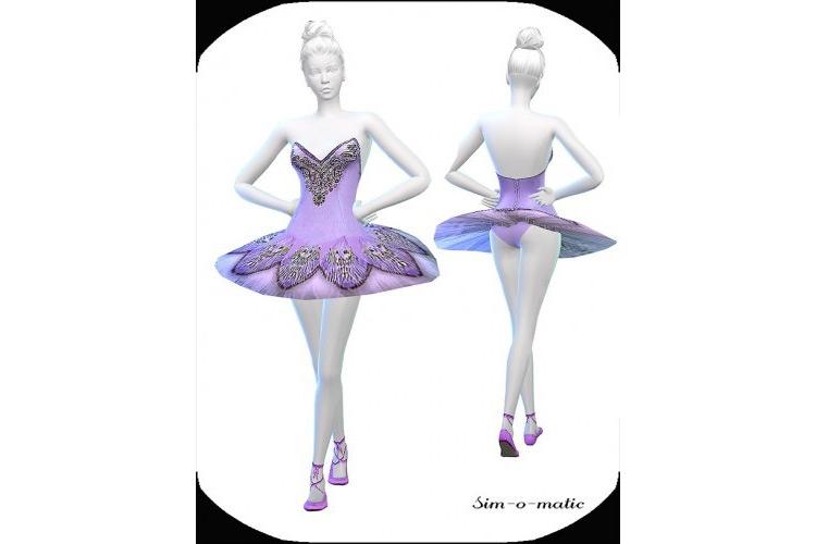 Ballet Dresses / TS4 CC