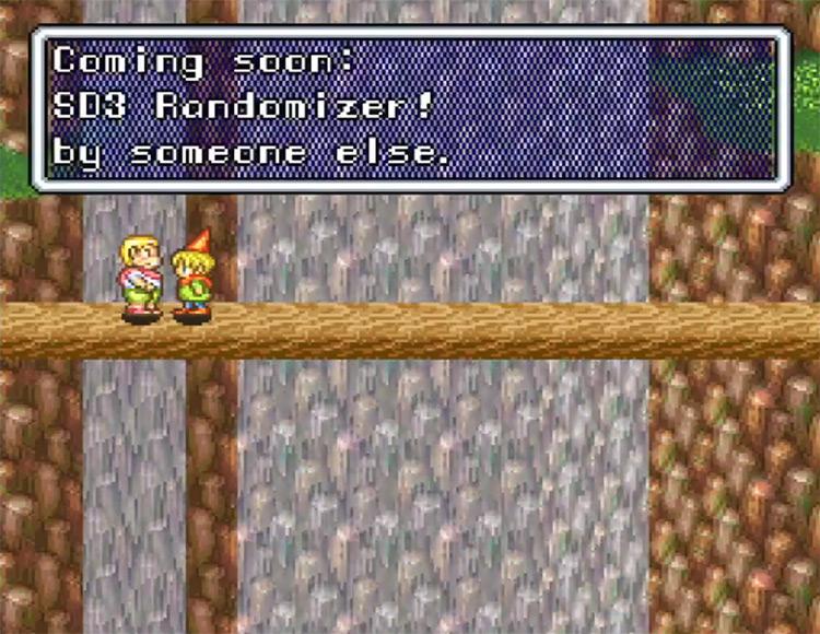 Secret of Mana Randomizer ROM Hack Screenshot