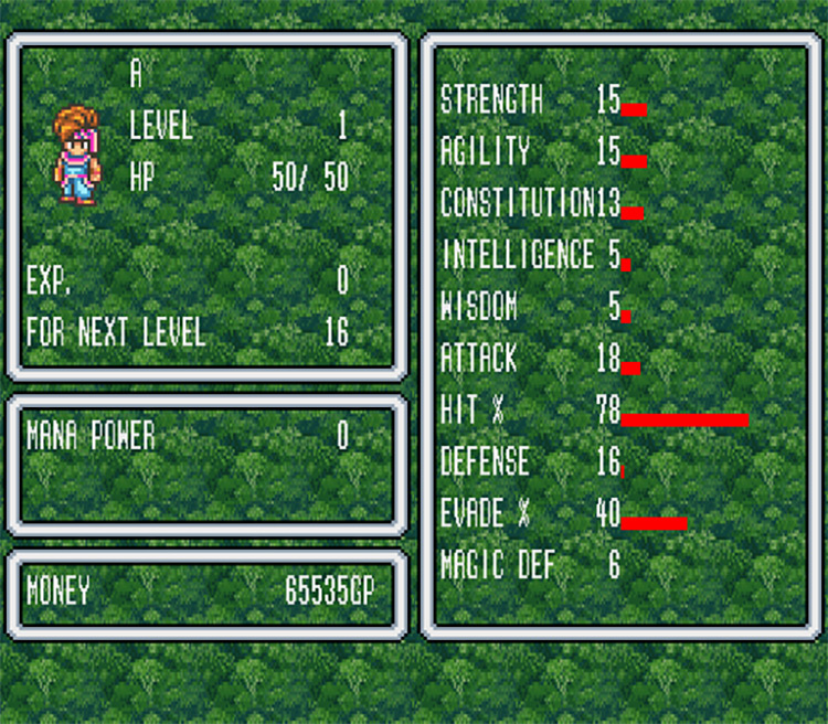 Tricked Out from the Start Hack for Secret of Mana