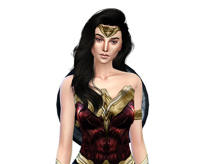 Gal Gadot as Wonder Woman / Sims 4 CC