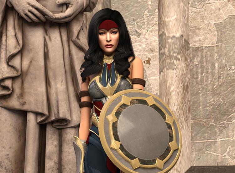 Injustice Wonder Woman Set / Sims 4 CC