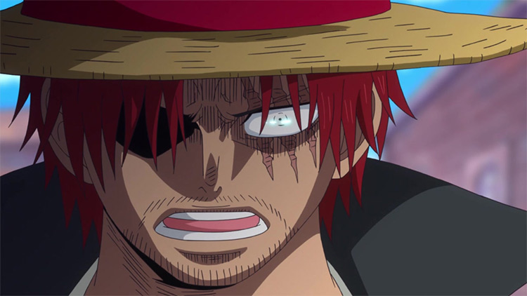Shanks from One Piece screenshot