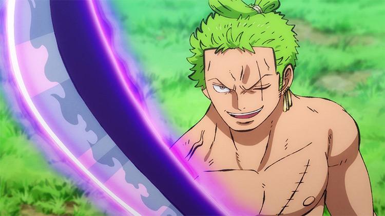 Roronoa Zoro from One Piece screenshot