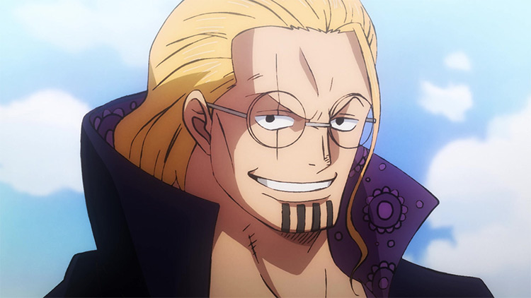 Silvers Rayleigh from One Piece screenshot