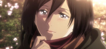 Mikasa Close-up from Attack on Titan Anime