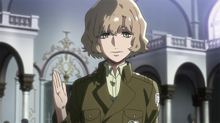 Hitch Dreyse from Attack On Titan screenshot