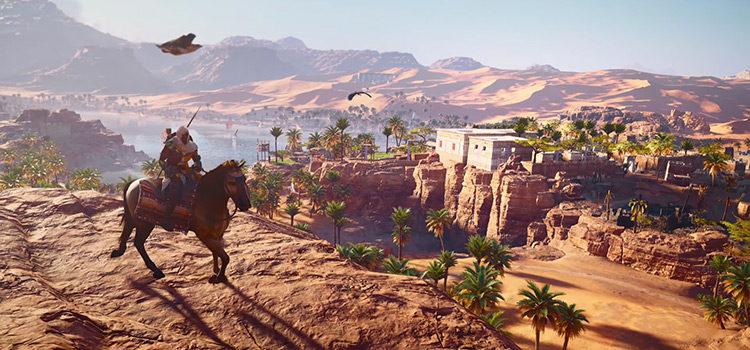 Best XP Farming Methods in Assassin's Creed Origins