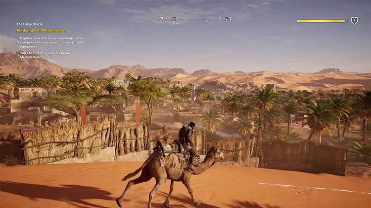 Exploration in Assassin's Creed Origin